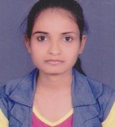 Pooja Vishwakarma, B.Sc. Nursing 2nd Year, 2nd