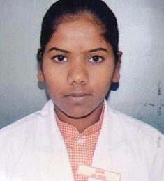 Roshni Nagesh, GNM 2nd Year, 3rd